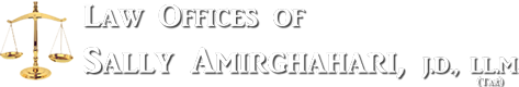 Law Offices of Sally Amirghahari Logo